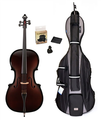 Glasser Carbon Composite Acoustic 5 String Cello Outfit
