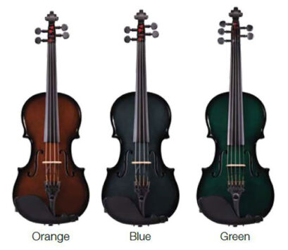 Glasser Carbon Composite Acoustic Electric Violin Outfit