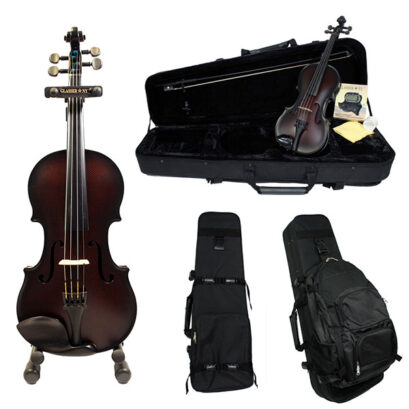 Glasser Carbon Composite Acoustic Violin Outfit