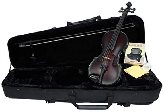 Glasser Carbon Composite Acoustic Violin Outfit