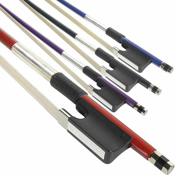 Glasser Fiberglass Colored Stick Viola Bow