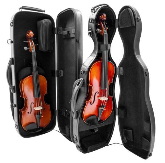 vector violin and viola cases