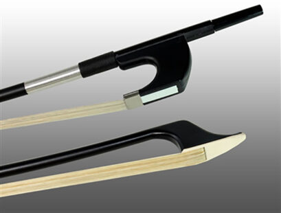 Glasser Fiberglass Bass Bow with Wire Grip (German)