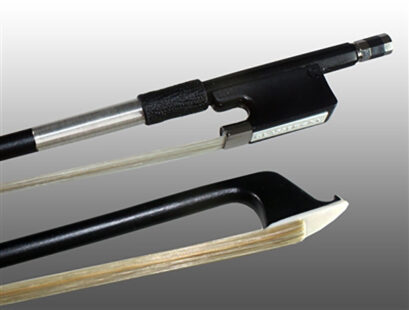 Glasser Fiberglass Viola Bow with Wire Grip