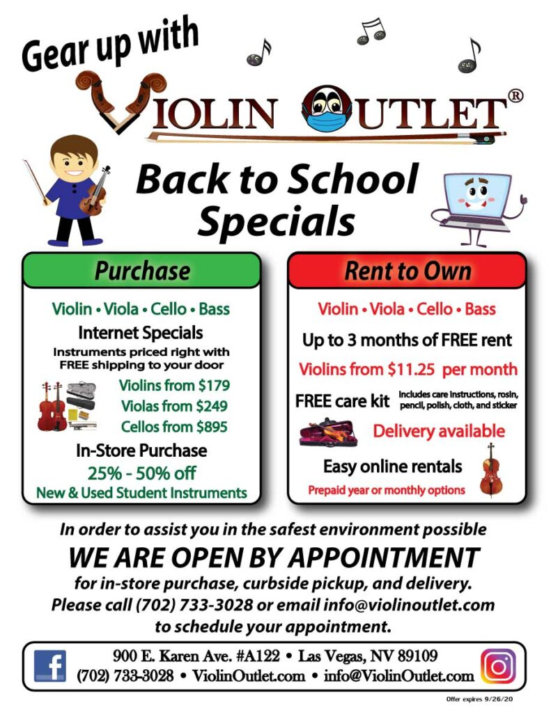 back to school specials