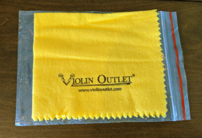 Violin Outlet's Soft Cleaning Cloth