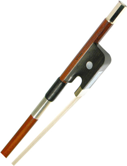 Dorfler Pernambuco Round Stick Bass Bow (French or German)