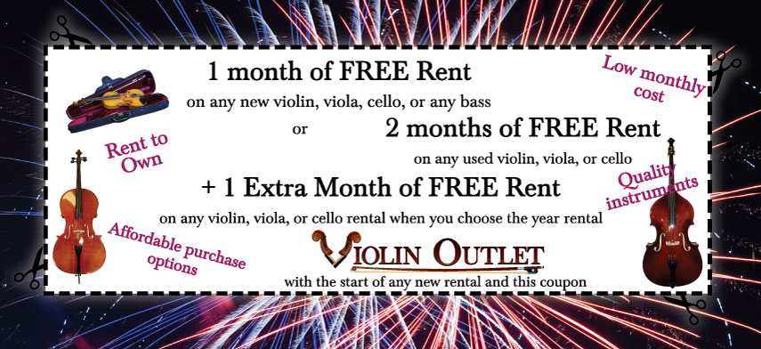 New Year Rental Coupon