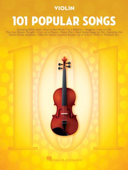 101 Popular Songs for Violin