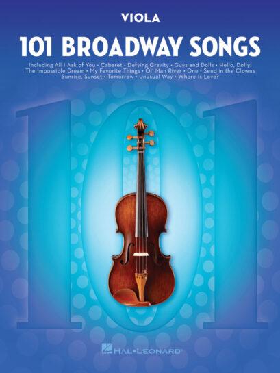101 Broadway Songs for Viola